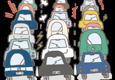 交通事故多発非常事態宣言発令中!!